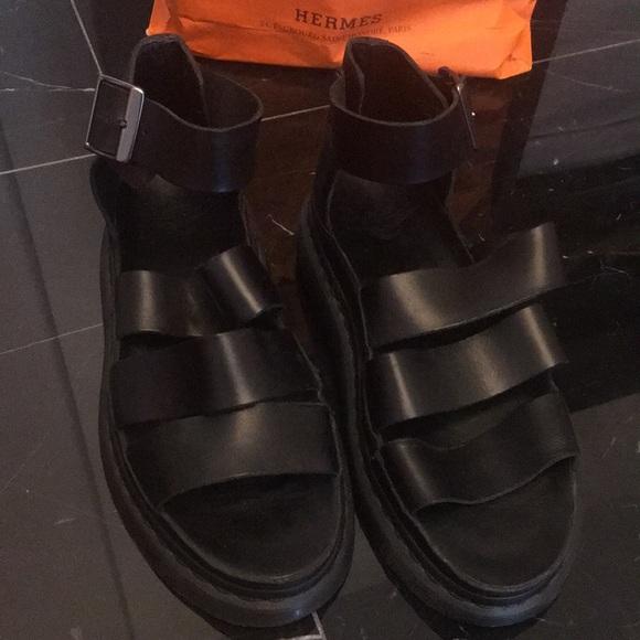 130a25873f76 doc martens Shoes - Doc martens women s black leather sandals
